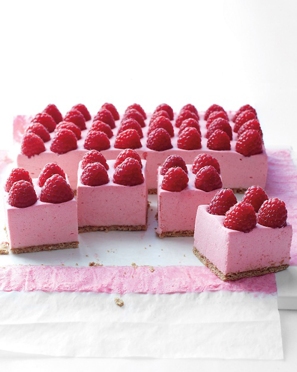 Raspberry Mousse Pie from www.trixandtrumpet.com