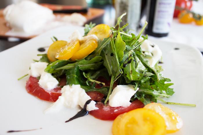 caprese salad from www.trixandtrumpet.com