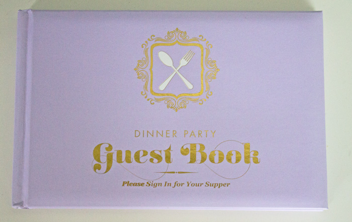 use a guest book