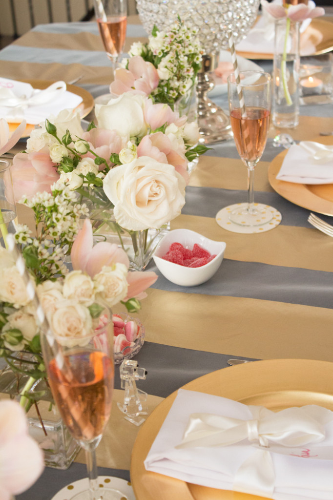 Blush and Gold Inspiration from www.trixandtrumpet.com