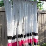 DIY Fabric Backdrop from www.trixandtrumpet.com