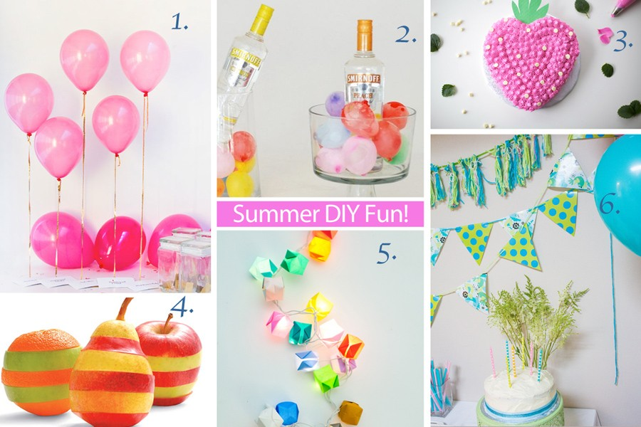 Summer DIY Fun from Trix & Trumpet at www.trixandtrumpet.com