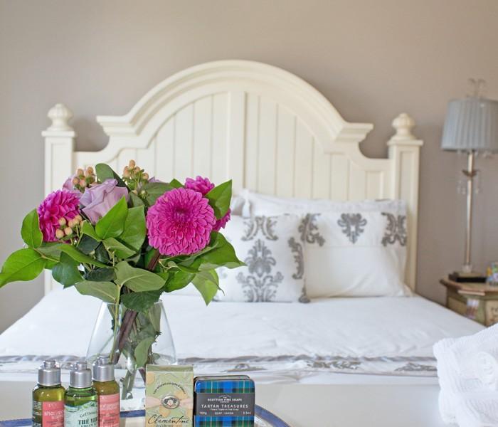 guest room amenities from Trix & Trumpet at www.trixandtrumpet.com